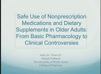 Safe Use of Non-Prescription Medications and Dietary Supplements in Older Adults: From Basic Pharmacology to Clinical Controversies
