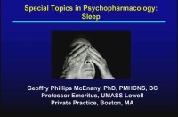 Special Topics in Psychopharmacology