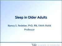 Assessment and Management of Sleep Disorders in Older Adults