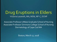 Drug Eruptions in Elders