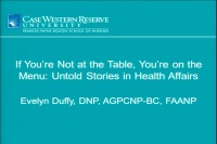 If You're Not at the Table, You're on the Menu: Untold Stories in Health Affairs