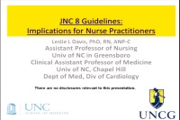 JNC-8 Guidelines: Implications for Nurse Practitioners