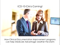 ICD-10 Is Coming! The Benefits of Clinical Documentation Improvement Programs in Risk Adjustment