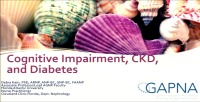 Cognitive Impairment and CKD and Diabetes