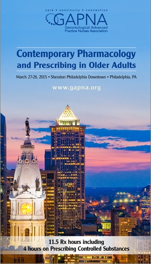 2015 GAPNA Pharmacology Conference