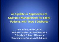 An Update in Approaches to Glycemic Management for Older Patients with Type 2 Diabetes