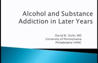 Alcohol and Substance Addiction in Later Years