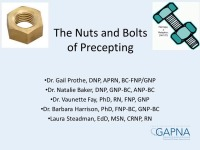 The Nuts and Bolts of Precepting