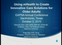 Using mHealth to Create Innovative Care Solutions for Older Adults