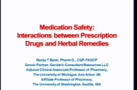 Herbal Medications and Drug Interactions