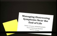 End-of-Life Symptom Management