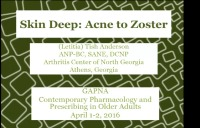 Skin Deep: Acne to Zoster