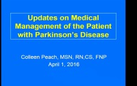 Updates on Medical Management of the Patient with Parkinson's Disease