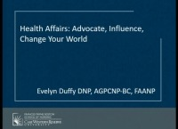 Health Affairs: Advocate, Influence, Change Your World