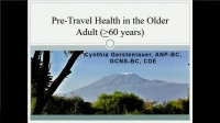 Pre-Travel Health for Older Adults