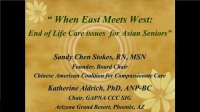 East Meets West: End-of-Life Issues for Older Asian Individuals