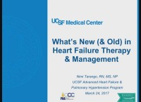 What's New in Heart Failure Drug Therapy and Management