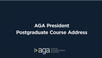 President's Welcome & Course Overview