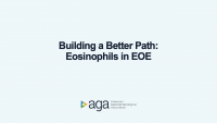BUILDING A BETTER PATH: EOSINOPHILS IN EOE icon