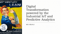 Digital Transformation powered by the Industrial IoT and Predictive Analytics