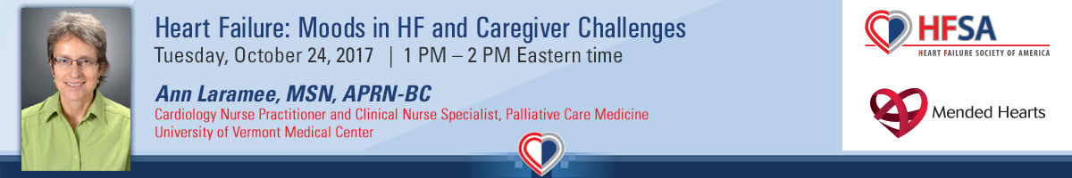 Heart Failure: Moods in HF and Caregiver Challenges