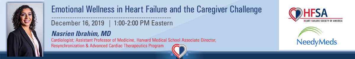 Emotional Wellness in Heart Failure and the Caregiver Challenge