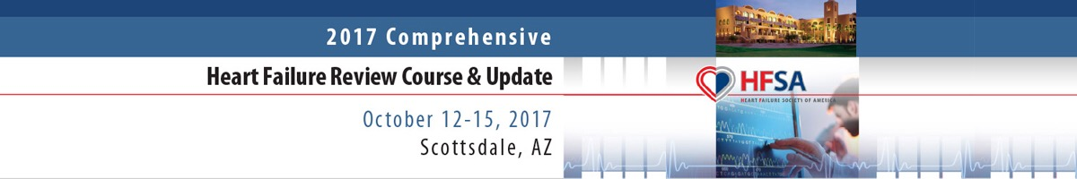 2017 Comprehensive Heart Failure Review Course & Update - LIVE COURSE