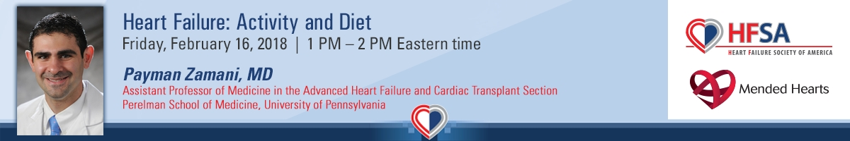 Heart Failure: Activity and Diet