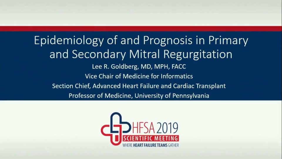 Mitral Regurgitation in Heart Failure 2019: Challenges and Opportunities