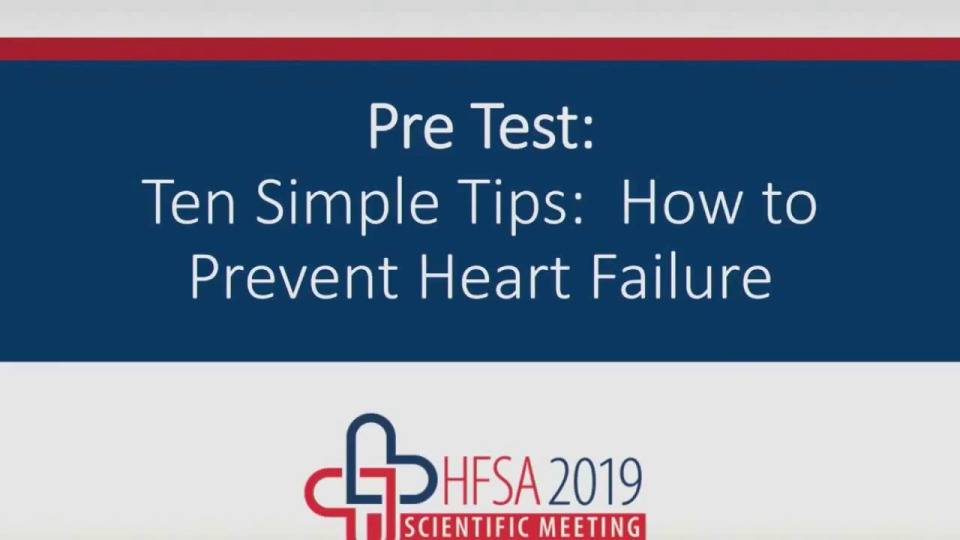Ten Simple Tips: How to Prevent HF