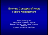 Plenary Session:  Heart Failure Care in America:  A Public, Patient, and Provider Perspective