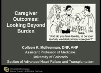 Caregiver Commitment: The Role of the Caregiver in Patients with Heart Failure