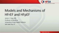 Models and Mechanisms of HFrEF and HFpEF