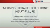 Emerging Therapies for Chronic HF