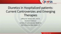 Diuretics in Hospitalized patients: Current Controversies and Emerging Therapies