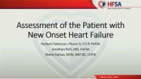 Assessment of Patient with New Onset HF