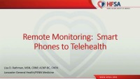 Remote Monitoring: Smart Phones to Telehealth