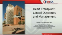 Heart Transplant ‐ Clinical Outcomes and Management