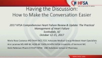 Having the Discussion ‐ How to Make the Conversation Easier