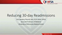 Reducing 30‐Day Readmissions
