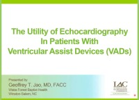 The Utility of Echocardiography in Patients with VADs