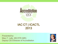 IAC CT Accreditation: It's As Easy As 1-2-3