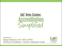 IAC Vein Center: Accreditation Simplified