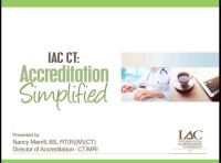 IAC CT: Accreditation Simplified