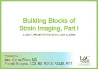 Building Blocks of Strain Imaging, Part I