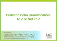 Pediatric Echo Quantification: To Z or Not To Z