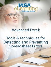 Advanced Excel: Tools & Techniques for Detecting and Preventing Spreadsheet Errors