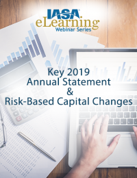 Key 2019 Annual Statement & Risk-Based Capital Changes