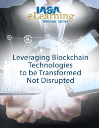 Leveraging Blockchain Technologies to be Transformed - Not Disrupted
