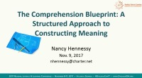 The Comprehension Blueprint: A Structured Approach to Constructing Meaning